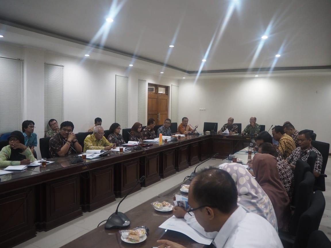 Forum Sekretaris Daerah Se-DI Yogyakarta  Pada Sekretariat Bersama Kartamantul