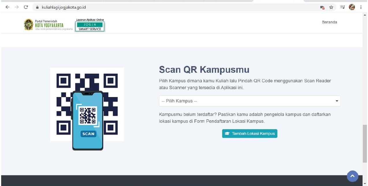 Yogyakarta Siapkan Aplikasi Pantau Kedatangan Mahasiswa Luar Daerah