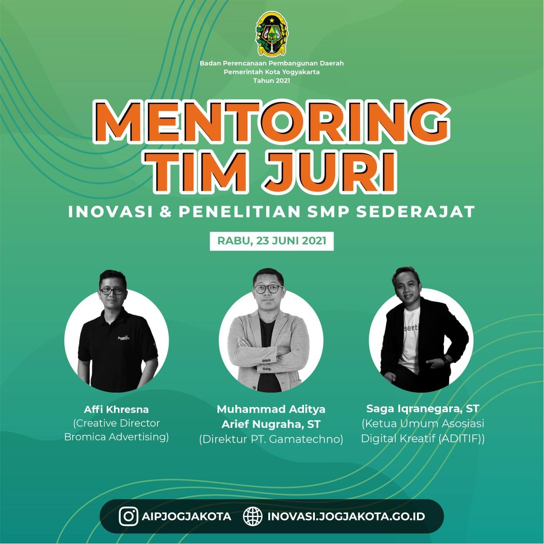 Mentoring Inovasi dan Penelitian SMP