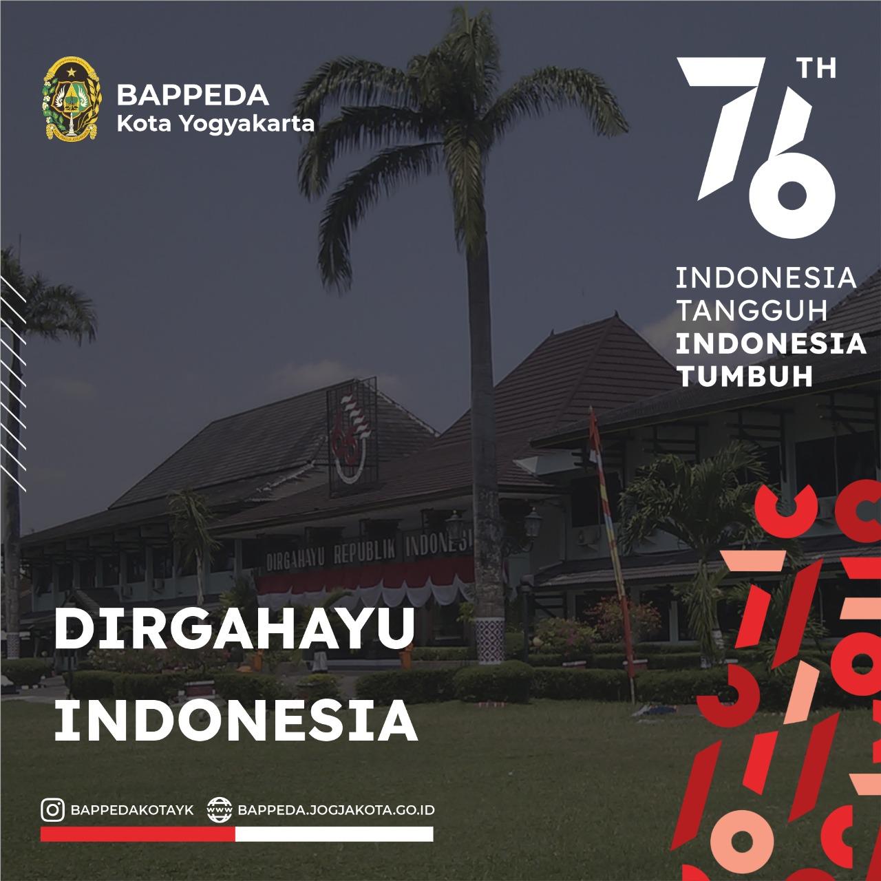 Dirgahayu ke-76 Republik Indonesia