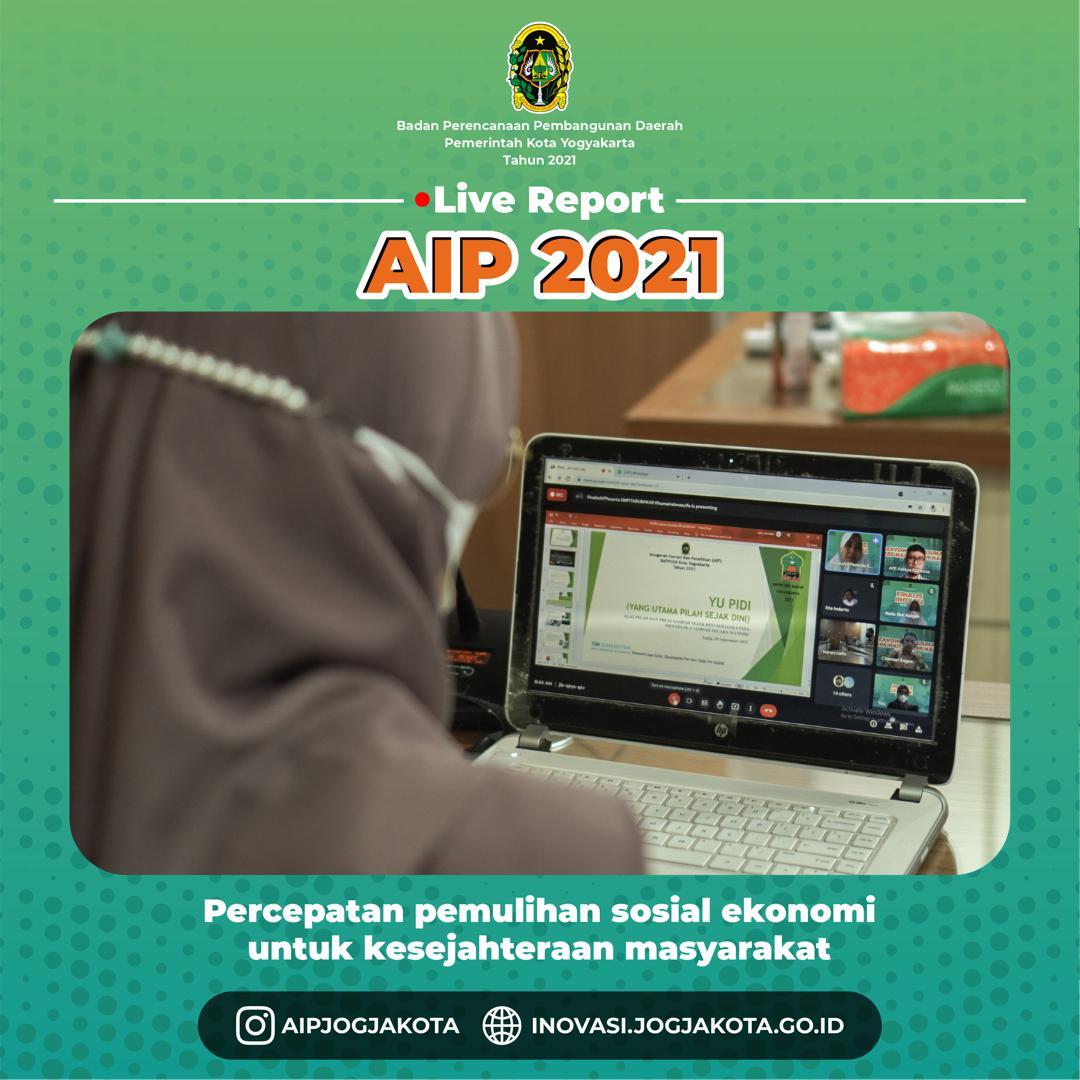 Presentasi Finalis Anugerah Inovasi dan Penelitian 2021