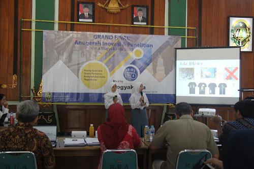 Presentasi Anugerah Inovasi Tingkat Pelajar